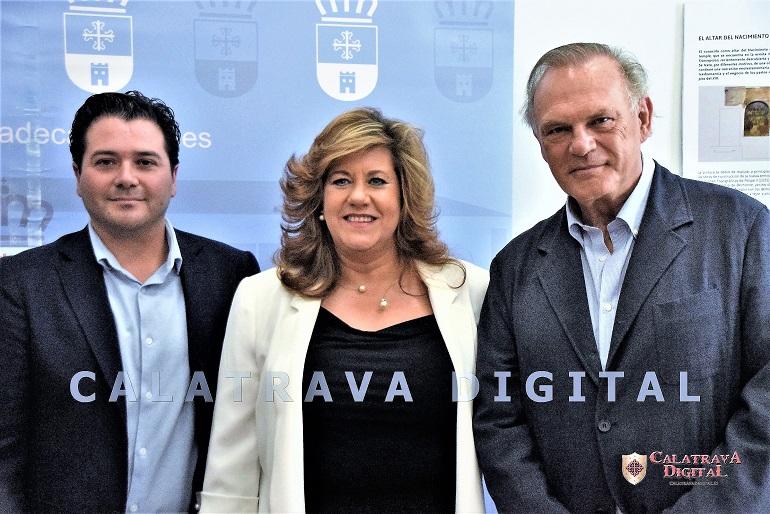 Torralba de Calatrava Pedro Piqueras inauguró la Biblioteca Inocente Hervás