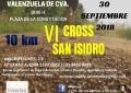 Valenzuela de Calatrava celebra este 30 de septiembre la VI Edición del Cross de San Isidro