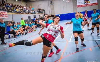 Buen comienzo de año para el Soliss BM Pozuelo en Leganés, a pesar de la baja de Gemma Manzanares