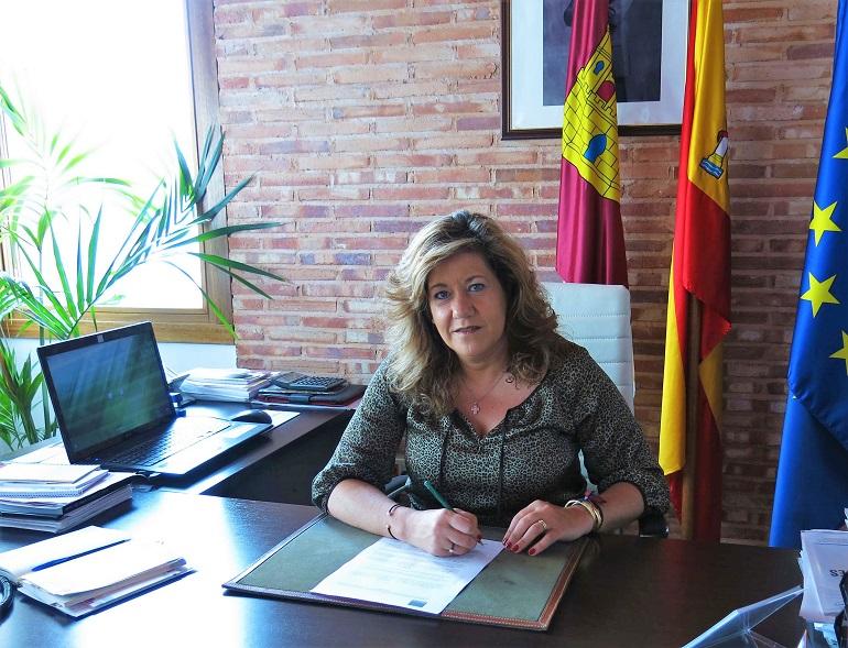 María Antonia Álvaro, alcaldesa de Torralba de Calatrava