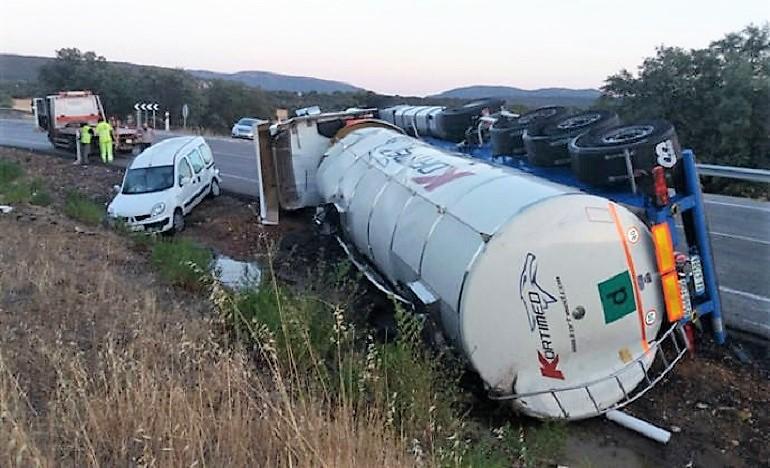 Piedrabuena Este viernes han comenzado las obras de mejora en la carretera más peligrosa de Castilla-La Mancha