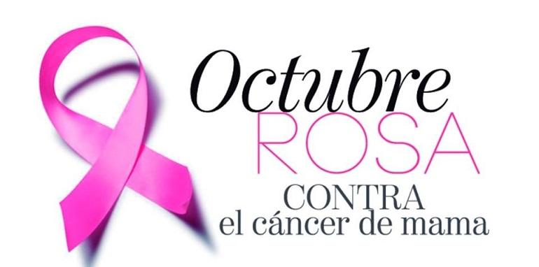 octubre rosa contra el cancer de mama