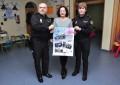 """La Policía Nacional de Ciudad Real colabora en la elaboración de un calendario solidario elaborado por la Asociación """"Nadie es tan feliz"""" de Tomelloso."""