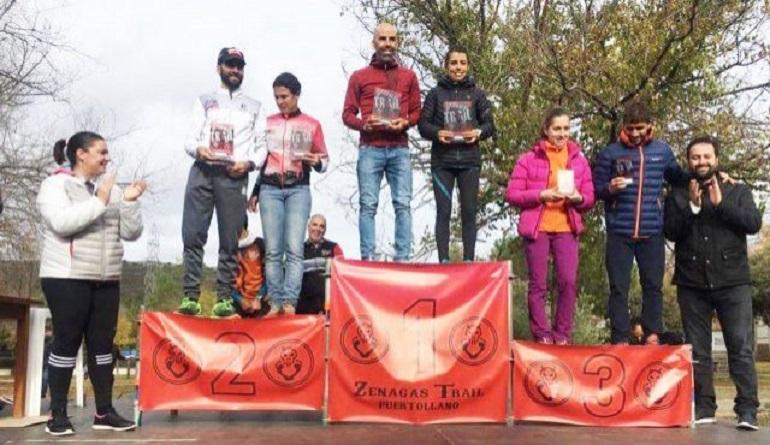 Puertollano Jesús Gil y Gemma Arenas se llevan la V Zenagas Trail