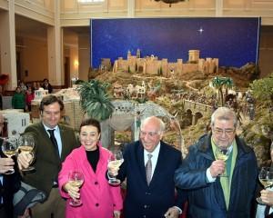 Ciudad Real: Inaugurado el Belén Monumental Municipal en el Centro Cultural Antiguo Casino