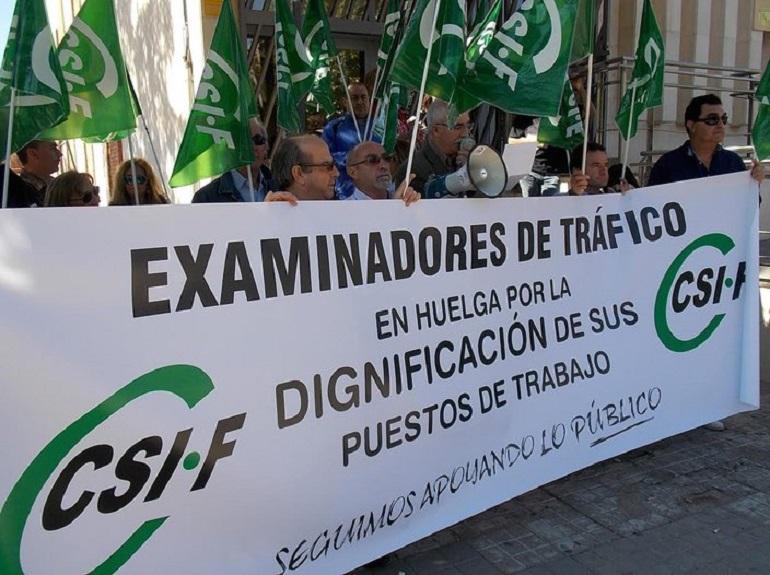 Desconvocada la huelga de examinadores de tráfico