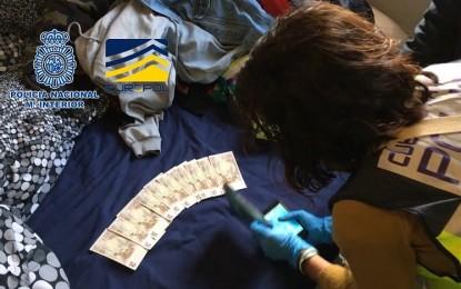 Dos detenidos en Ciudad Real por distribuir dinero falso junto a otros dieciseis más en toda España