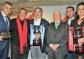 El Almagro FSF  recogió ayer el trofeo de Campeón de Liga del Grupo III de la Segunda División Nacional de Fútbol Sala Femenino 2017-2018