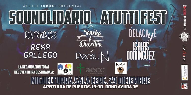 """Miguelturra Todo listo para la I Edición del festival benéfico """"Soundlidario Atutti Fest"""""""
