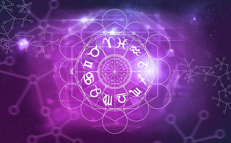 astrology horoscope signs. astrology background