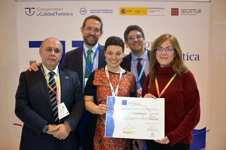 Ciudad Real recibe el reconocimiento como destino turístico de calidad SIDTEC