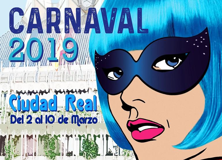 Ciudad Real ya tiene cartel de los Carnavales 2019, Supercarnavalera