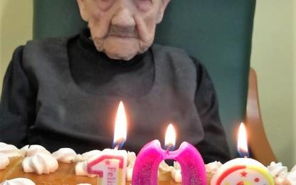 Malagón: Matilde cumple 102 años!