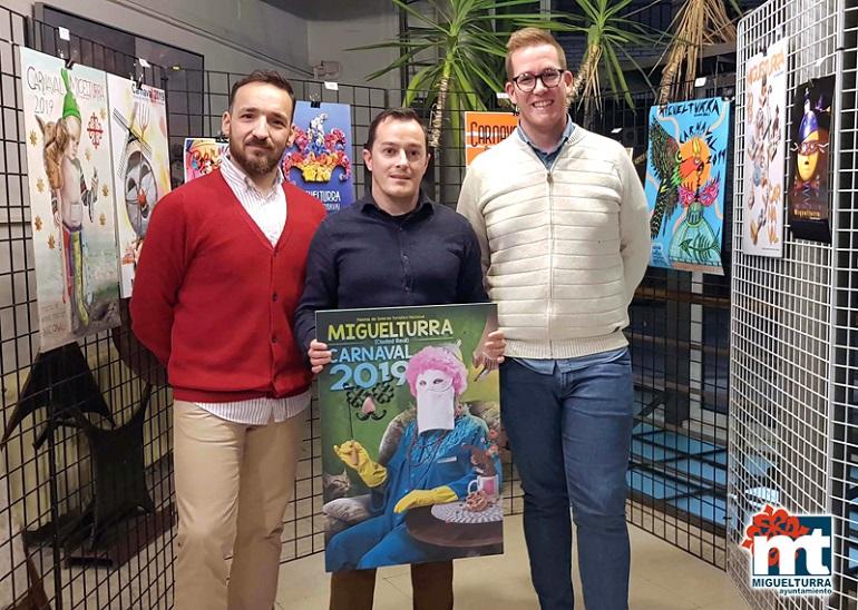 Miguelturra Presentado el cartel ganador del Concurso del Carnaval 2019