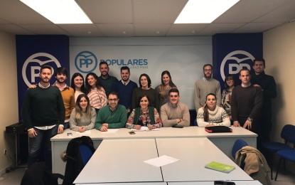 """NNGG de Ciudad Real recogieron recoge 9,4 toneladas de alimentos en la campaña """"Populares Solidarios"""""""