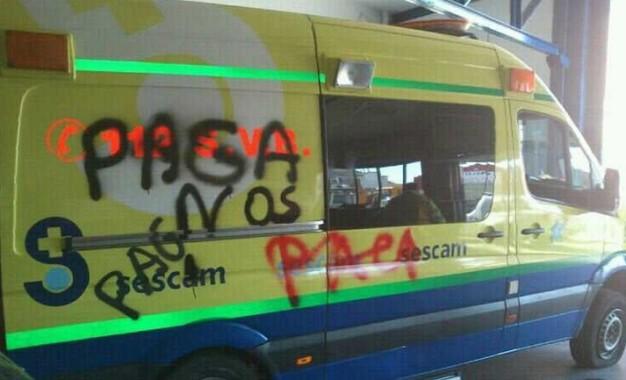 El transporte sanitario de Castilla La Mancha en lucha