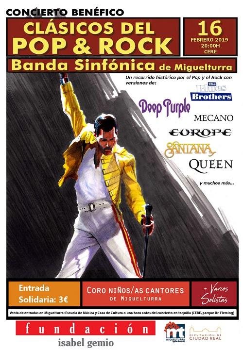 Concierto Benefico por la Banda Sifónica de Miguelturra