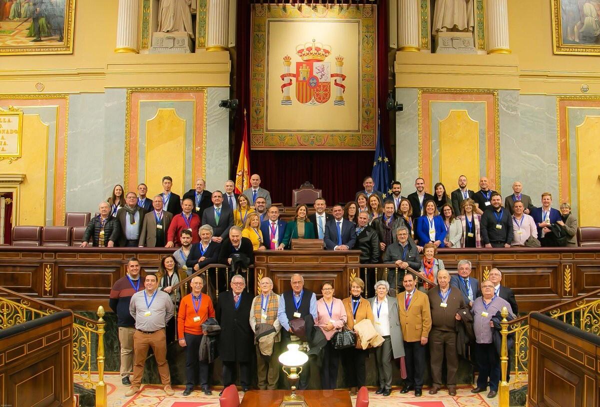 Malagón presentó hoy su marca en el Congreso de los Diputados