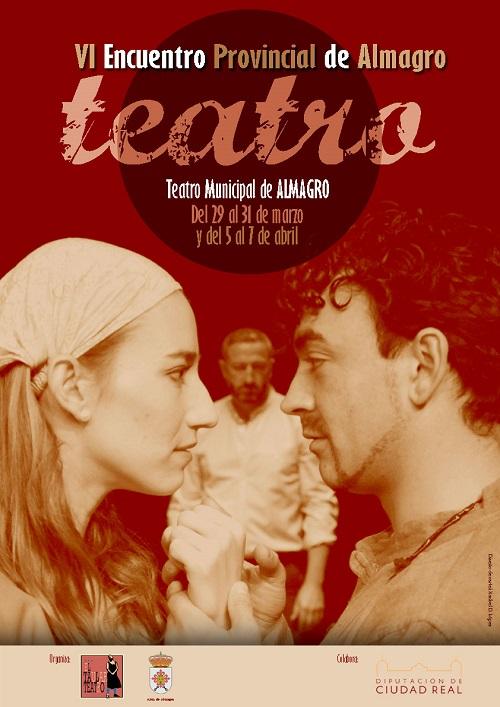 Cartel Encuentro de Teatro de CLM en Almagro