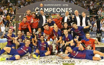 Ciudad Real: El día 9 de abril tendrá lugar la presentación y el sorteo de la Final Four de S.M. El Rey de Fútbol Sala