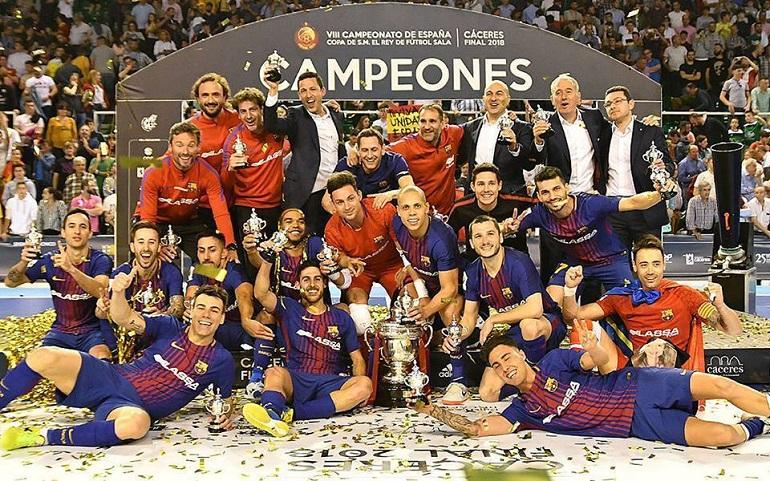 Ciudad Real El día 9 de abril tendrá lugar la presentación y el sorteo de la Final Four de S.M. El Rey de Fútbol Sala