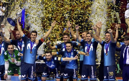 Ciudad Real acogerá la Final Four de la Copa de S.M. El Rey de Fútbol Sala