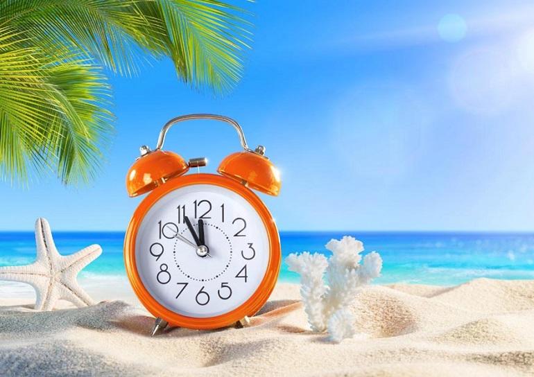 Este sábado volvemos al horario de verano