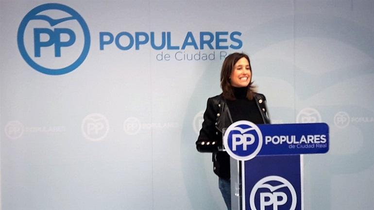 """Rosa Romero """"El próximo 28-A celebramos un referéndum por España con dos opciones reales, o votar al PP o a votar a la alianza de Sánchez con los secesionistas"""""""