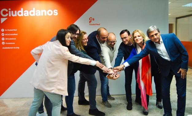 Ciudadanos presenta la candidatura de Ciudad Real a los comicios generales del 28 de abril