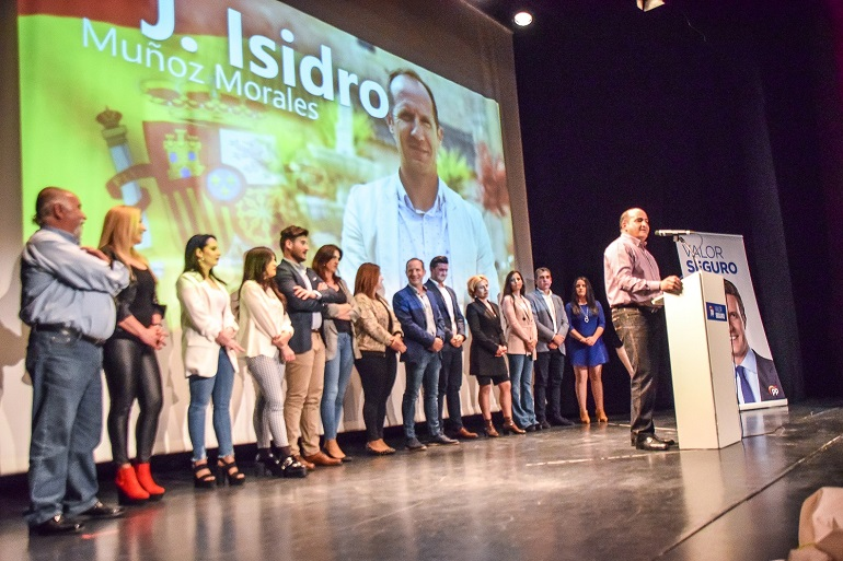 Los Populares de Pozuelo de Calatrava presentan una lista electoral que mezcla juventud y madurez, experiencia y renovación, para continuar al frente del ayuntamiento