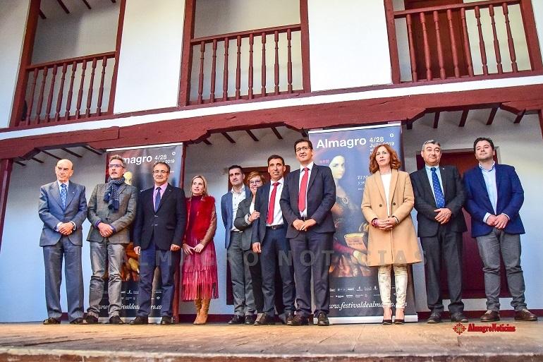 Presentacion del 42 Festival Internacional de Teatro Clasico de Almagro en el Corral de Comedias