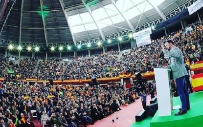 Vox Ciudad Real acudió a la presentación de sus candidatos al Congreso en Leganés