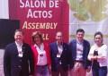 Ciudad Real: Los cabezas de lista de VOX y el candidato a la presidencia a la Junta asistieron a la inauguración de FENAVIN 2019