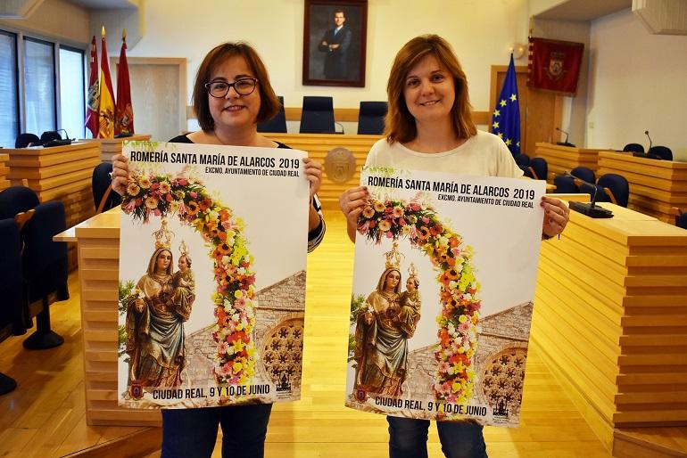 Ciudad Real Una fotografía de Toñi Martín-Albo ilustra el cartel de la Romería de Santa María de Alarcos