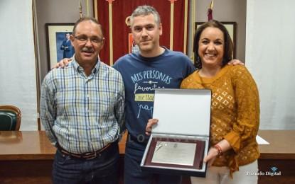 """La internacional Jimena Laguna recibe el """"Premio a la Trayectoria Deportiva 2015-2019"""" del Ayuntamiento de Pozuelo de Calatrava"""