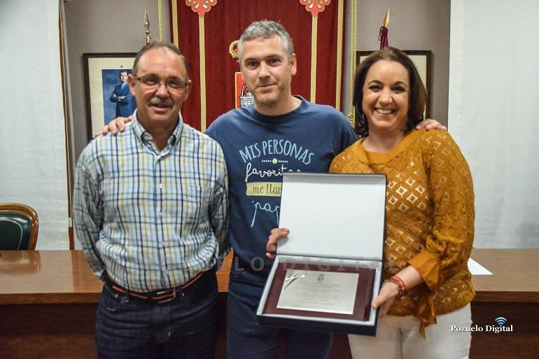La internacional Jimena Laguna recibe el Premio a la Trayectoria Deportiva 2015-2019 del Ayuntamiento de Pozuelo de Calatrava