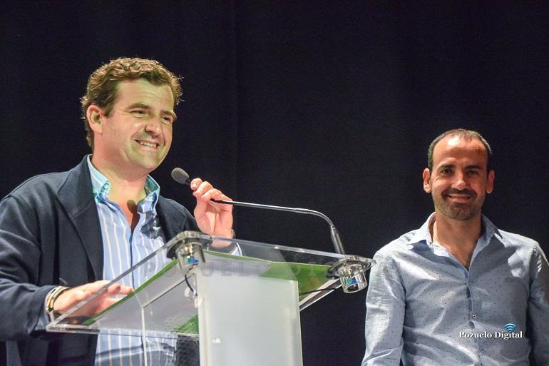 Ricardo Chamorro en la presentación de la candidatura de VOX a las Elecciones Municipales de Pozuelo de Calatrava