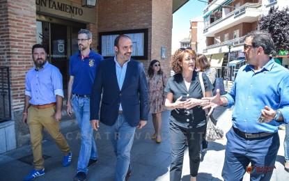 """Soraya Rodríguez en Miguelturra: """"Todos los Parlamentarios Europeos de Ciudadanos vamos a trabajar para que no haya una disminución de un solo euro para España"""""""