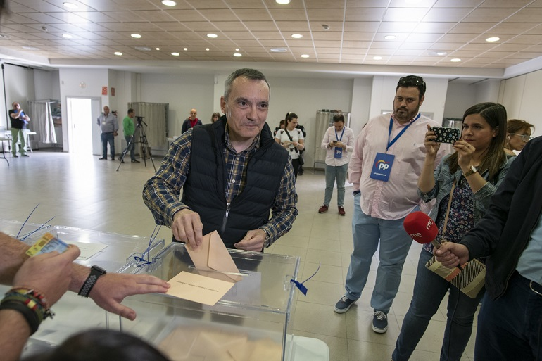 VOX multiplica por 11 su presencia de concejales en la provincia de Ciudad Real