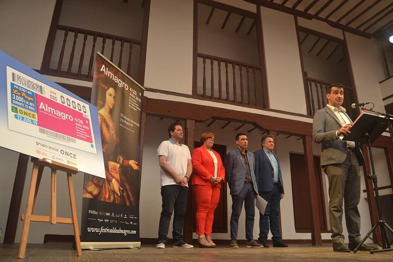 Almagro El cupón de la ONCE del 12 de junio está dedicado al Festival Internacional de Teatro Clásico