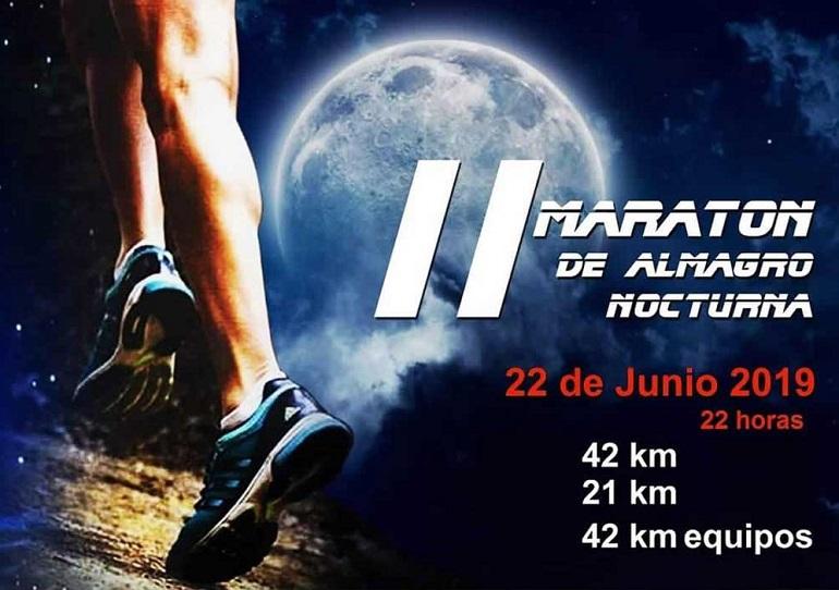 Almagro La Maratón Nocturna vuelve el próximo 22 de junio en su segunda edición