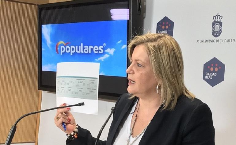 Ciudad Real Aurora Galisteo denuncia que Ciudad Real es la única gran población de la provincia en la que ha subido el paro
