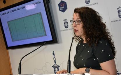 Ciudad Real: El Ayuntamiento adjudica las obras del campo  de fútbol de césped artificial en Las Casas