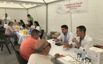 Ciudad Real: Más de 200 ciudadanos chequean su salud cardiovascular de la mano del Colegio de Médicos