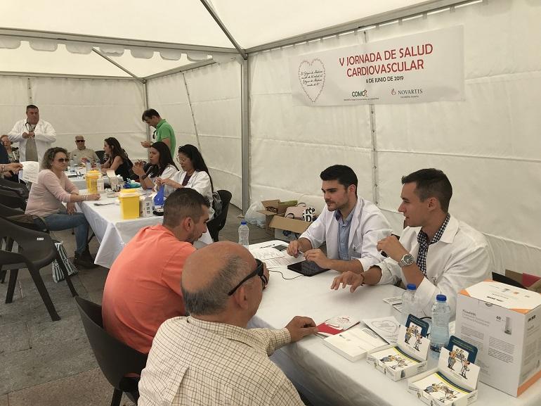 Ciudad Real Más de 200 ciudadanos chequean su salud cardiovascular de la mano del Colegio de Médicos