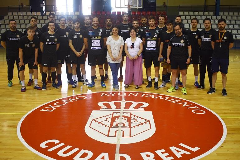 """Ciudad Real Pilar Zamora """"Nuestra capital se merece tener un equipo en la máxima categoría del balonmano"""""""