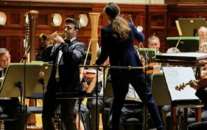 El daimileño Manuel Blanco conquista Praga con su trompeta
