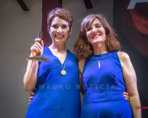 """Almagro: Adriana Ozores recibió el """"XIX Premio Corral de Comedias"""" en una noche de marcado carácter feminista"""