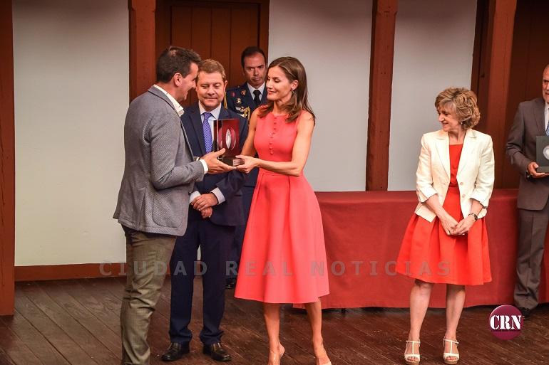 Almagro SM La Reina Letizia entregó los Premios que lleva su nombre, en favor de la inclusión de la discapacidad