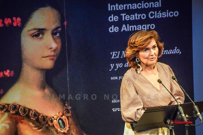 Carmen Calvo en el XIX Premio Corral de Comedias088